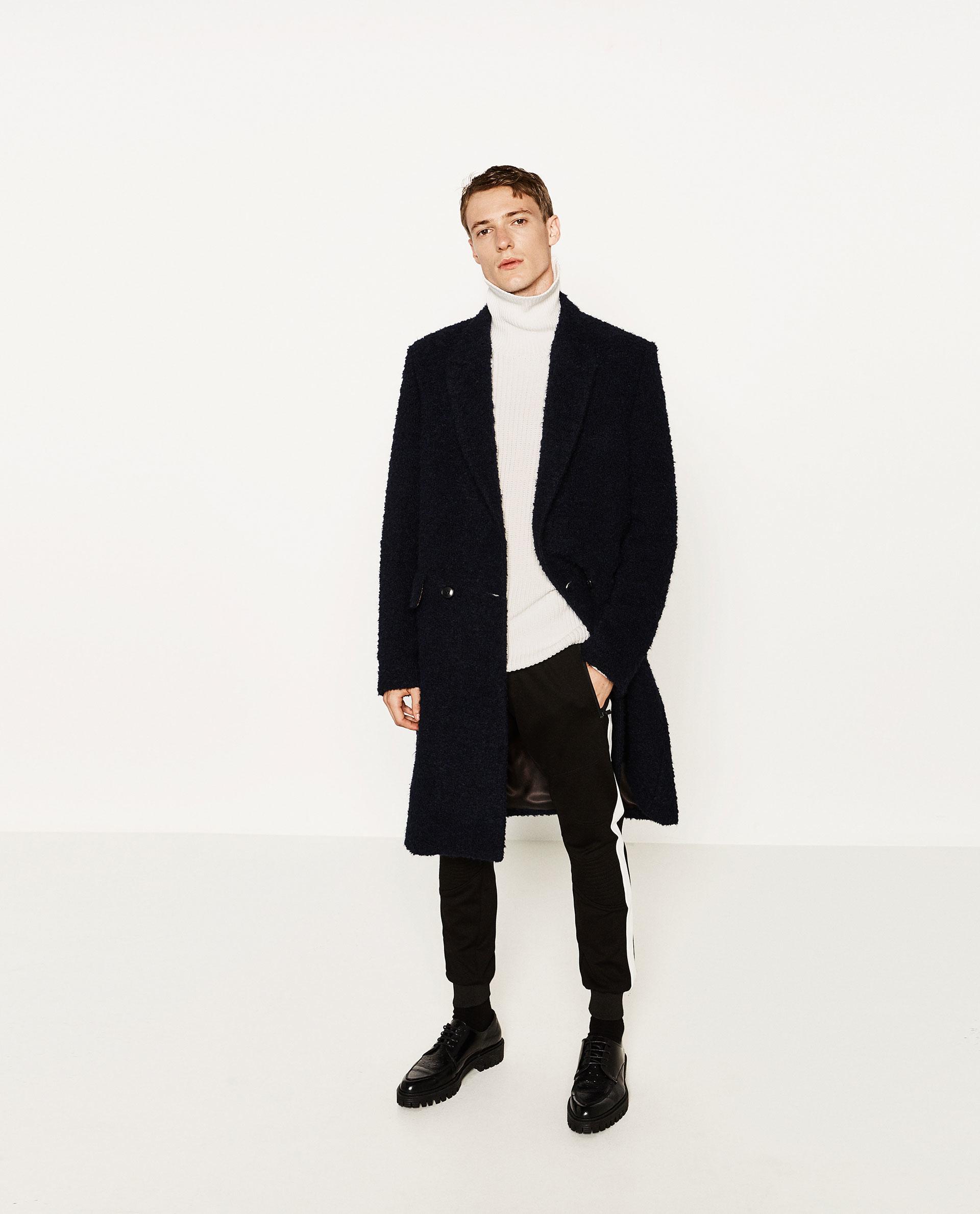 Zara Turtleneck Sweater Mens 91