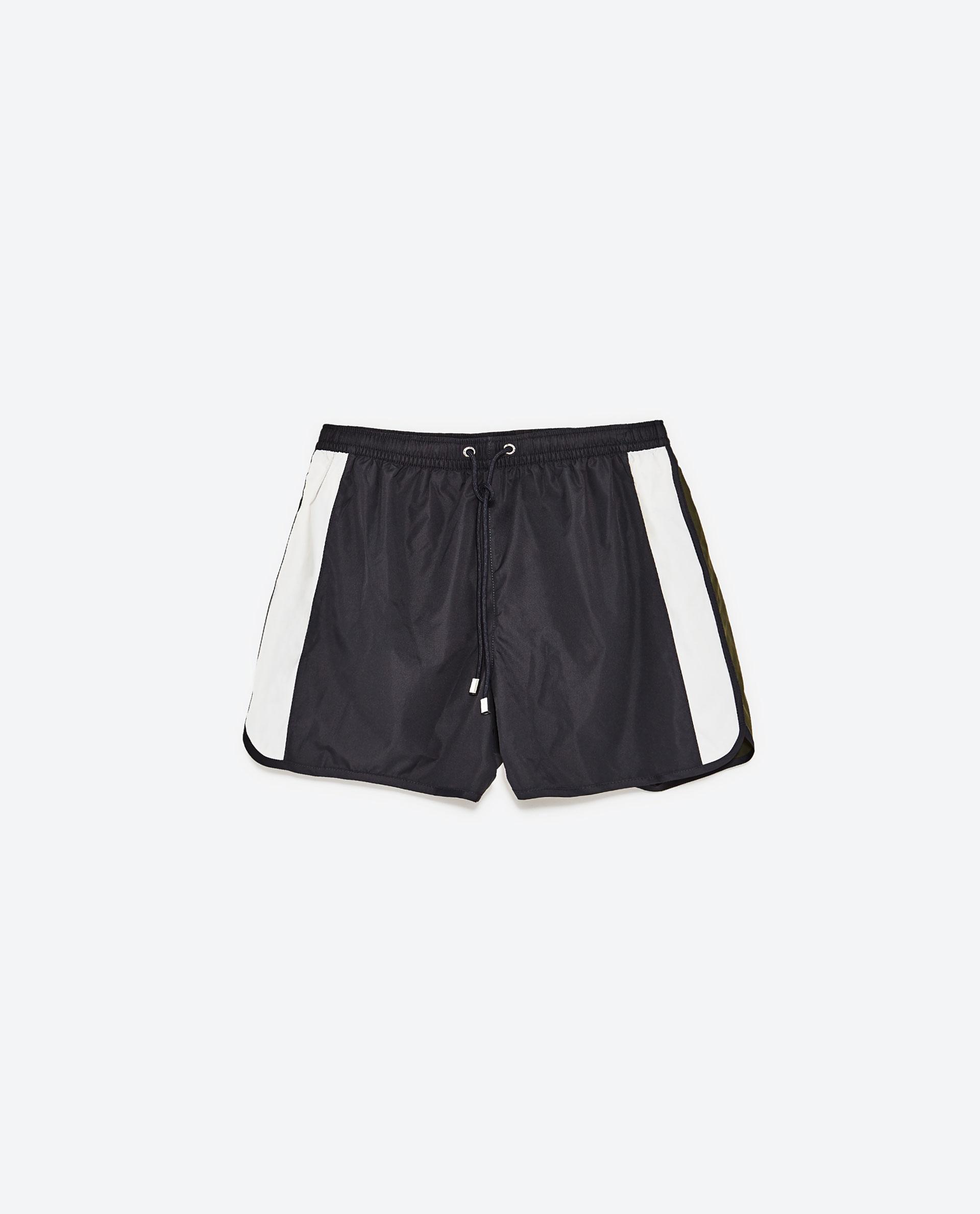 Zara Sports Swimwear in Blue for Men   Lyst