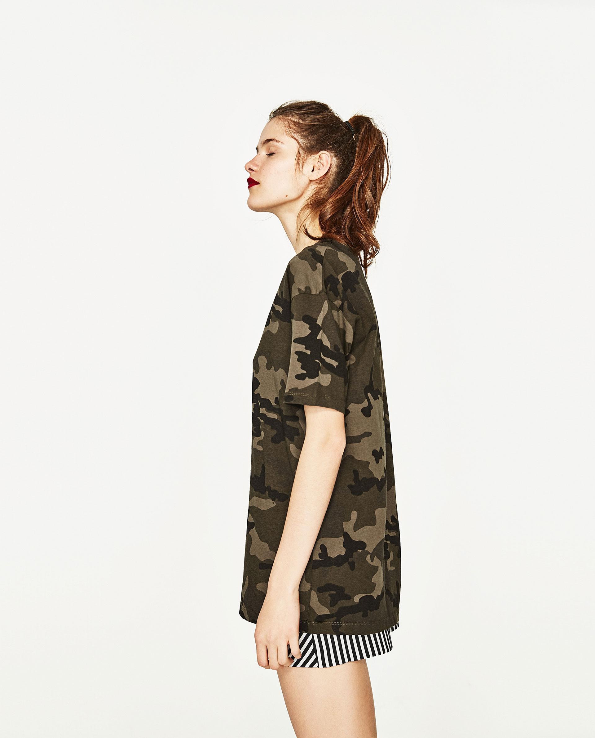 Lastest Zara Camouflage Trousers In Multicolour For Men  Lyst