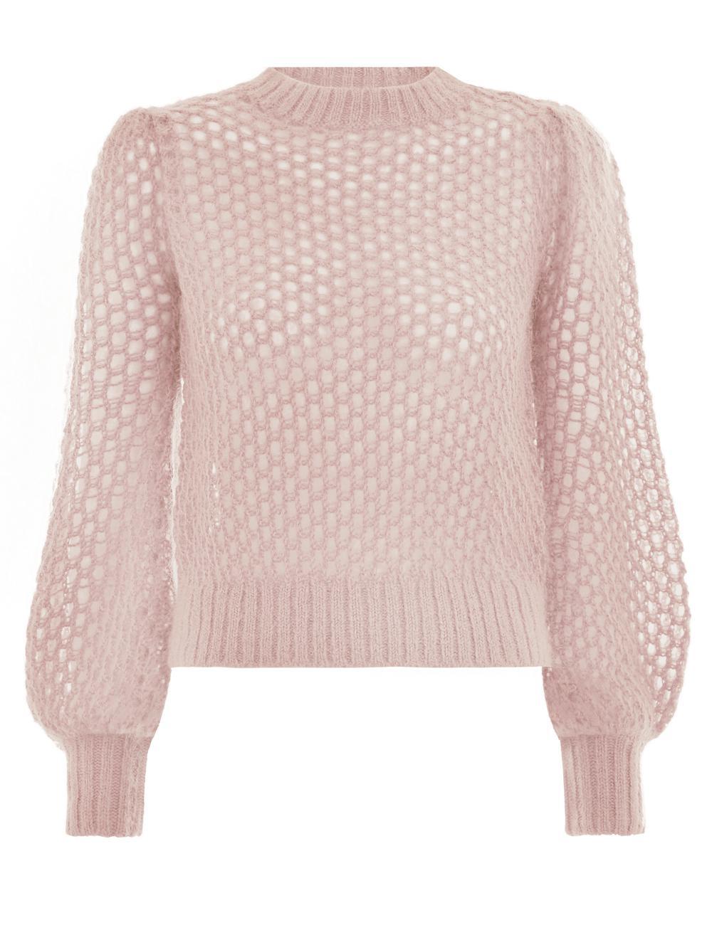 4111a387a52 Zimmermann Unbridled Crop Sweater - Lyst