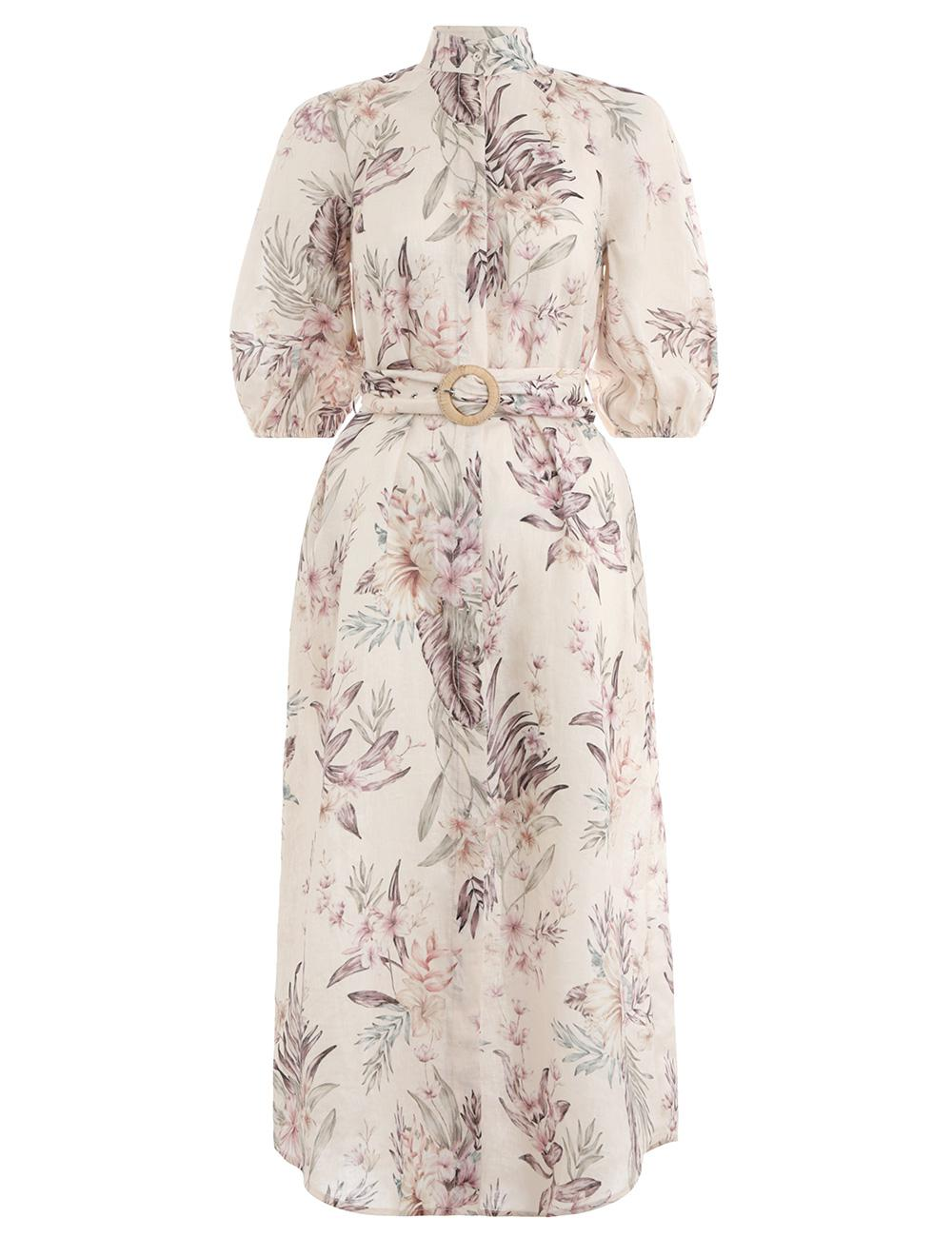 b4cb6ec3c3 Lyst - Zimmermann Tropical Print Dress - Save 12%
